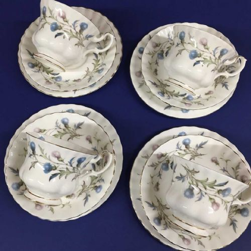Royal Albert Brigadoon - Trio x 4